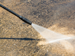 Ask About Our Pressure Washing Service